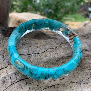 Orgonite Turquoise Bangle Bracelet